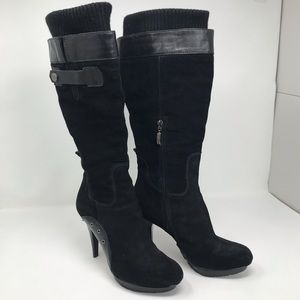 GUESS LEATHER AND SUEDE BOOTS
